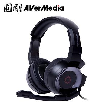 圓剛 GH335 雷神戰錘電競耳機(黑)