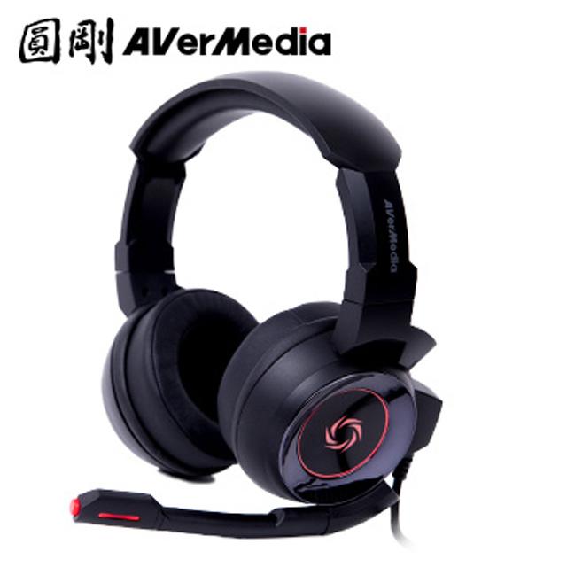 圓剛 GH337 電競耳機7.1聲道(黑)