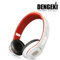 DENGEKI電擊大型手機MP3耳機麥克風(紅白)