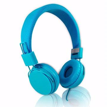 EP05 智慧型手機用高音質立體聲耳機麥克風(線控)-淺藍