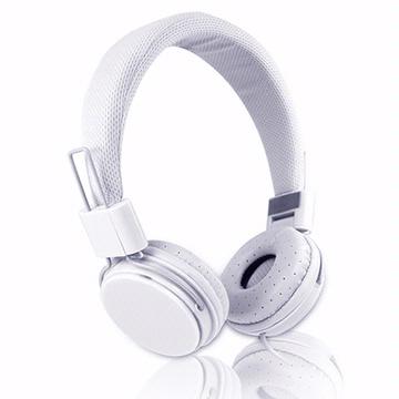 EP05 智慧型手機用高音質立體聲耳機麥克風(線控)-純白