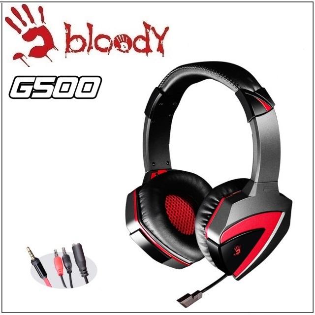 【A4 雙飛燕】Bloody G500 立體聲遊戲耳機