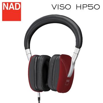 NAD - HP50 高品質三鍵線控全罩式耳機(紅色)