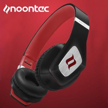 Noontec Hi-Fi耳罩式音樂耳機 ZORO II-黑紅