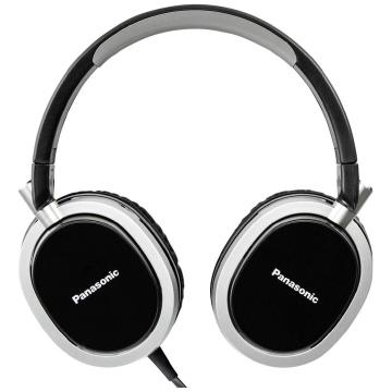 【Panasonic】國際牌金屬紋頭戴式耳機 (RP-HX550E) - 黑