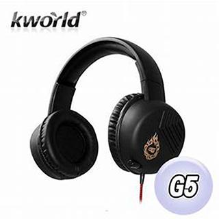 【Kworld 廣寰】龍紋戰魂系列II 電競專用耳麥 G5