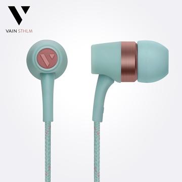Vain STHLM 汎思 - Originals 初衷 入耳式線控耳機(冰凍藍)