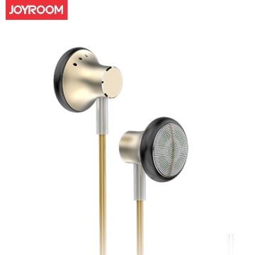 JOYROOM JR-EL117入耳式重低音環繞開放式耳機-金色