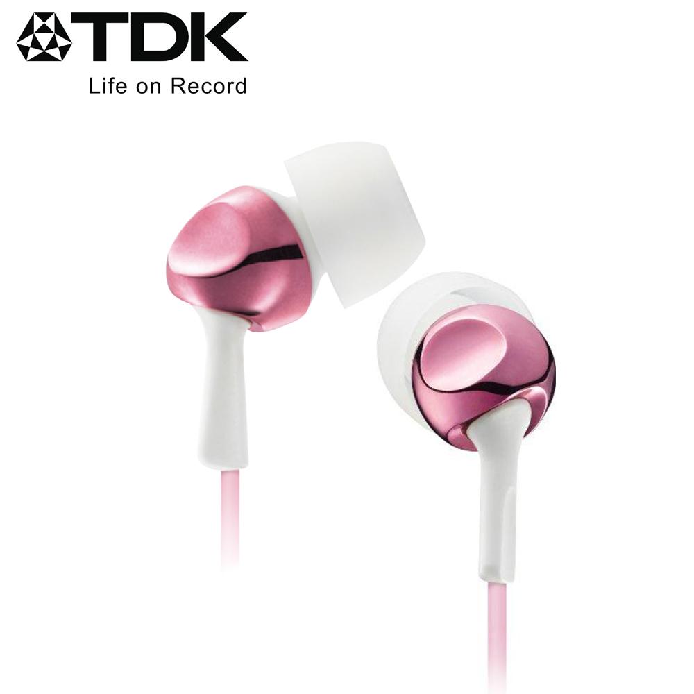 TDK CLEF-R2 高質感繽紛系列耳機 (玫瑰金)