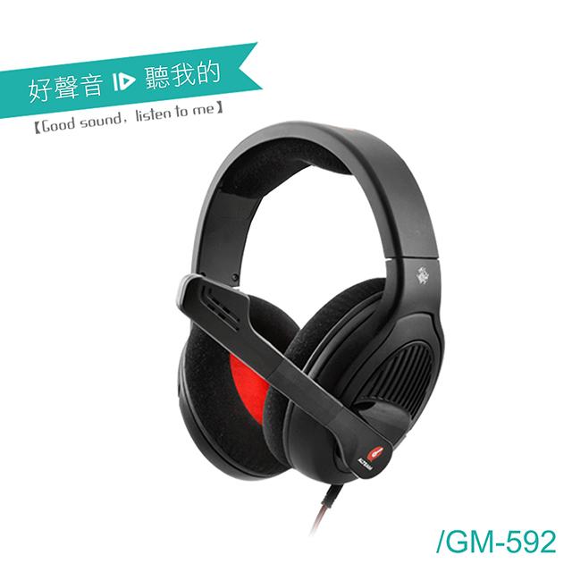 ★限時特價→加送滑鼠墊ALTEAM我聽 GM-592 電競耳麥