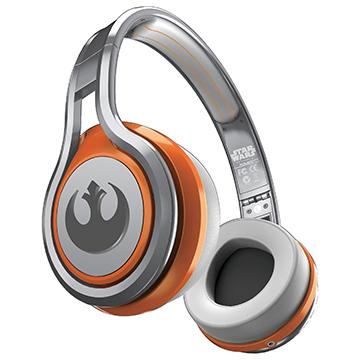 ★送影迷豪華禮★SMS Audio 星際大戰收藏家系列  Rebel Alliance 反抗軍同盟 耳罩式耳機