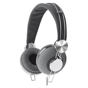 On earz LUXXY耳罩式耳機麥克風(磐石灰)