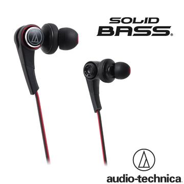 ║ 前所未有的低頻鐵三角 ATH-CKS770 SOLID BASS重低音密閉型耳塞式耳機【黑色】