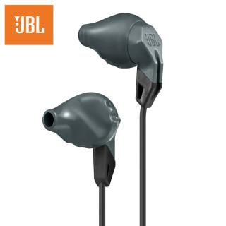 JBL Grip100 人體工學運動防汗耳機(炭灰)