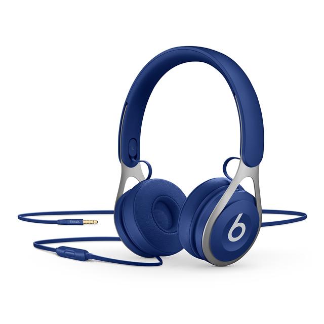 Beats EP 耳罩式有線耳機(藍)