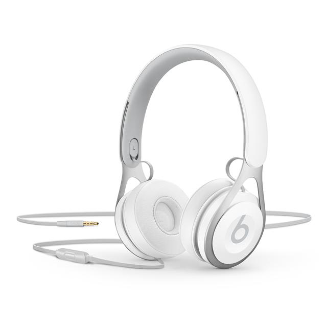 Beats EP 耳罩式有線耳機(白)