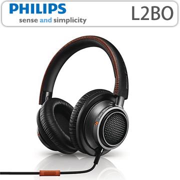 【PHILIPS 飛利浦】Fidelio覆耳式耳機附麥克風(L2BO)
