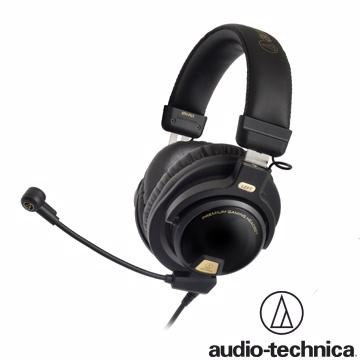 專業玩家的戰鬥機鐵三角 ATH-PG1 電競用密閉型耳機麥克風組【遊戲專用】