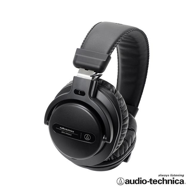 高解析監聽耳機鐵三角 ATH-PRO5X DJ專業監聽耳機【黑色】