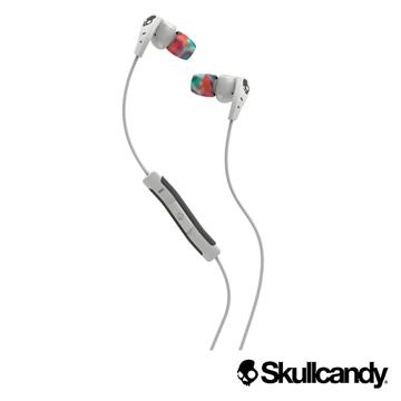★限量送原廠收納包Skullcandy 骷髏糖 METHOD美色運動型入耳式耳機-白+彩虹色(公司貨)