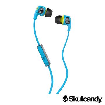 ★限量送原廠收納包Skullcandy 骷髏糖 SB2 入耳式耳機-灰藍色(公司貨)