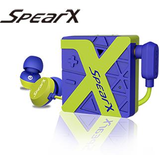 SpearX W1運動防水藍牙耳機(輕盈綠)