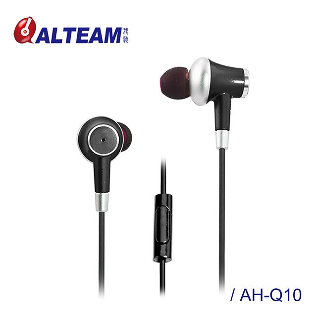 ALTEAM我聽 AH-Q10【花系列】滿天星小耳機 / 優雅黑