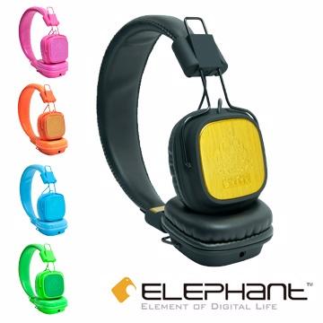 ELEPHANT 王者頭戴式線控耳機 KING BLACK (IPHS009BK)