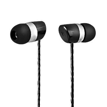 TCSTAR 放克樂迷入耳式有線耳機麥克風/黑 TCE6090BK