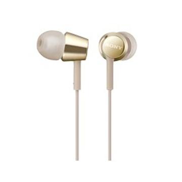 SONY MDR-EX155AP 入耳式立體聲耳機 金
