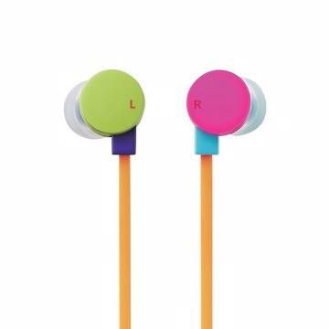 戴在身上營造歡樂氣氛! 甜甜圈耳麥2代扁線版本歡樂登場!來自日本ELECOM 繽紛甜甜圈耳麥Ⅱ(巧克粉色系列)