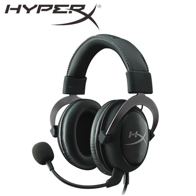 HyperX CLOUDII電競耳機-金屬灰