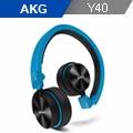AKG Y系列ON-EAR通話耳機 Y40 藍色