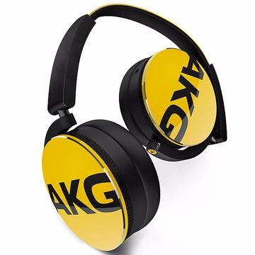 完美的AKG音質AKG Y系列ON-EAR通話耳機 Y50 黃色