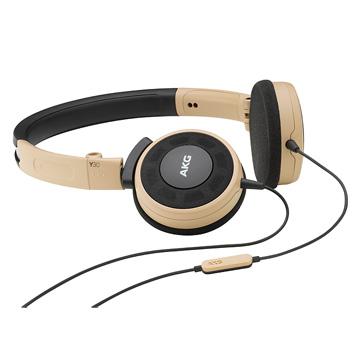 AKG ON-EAR通話耳機 Y30 卡其色