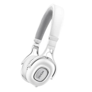 天龍 DENON AH-MM200 白色 可換線 線控通話 耳罩式耳機