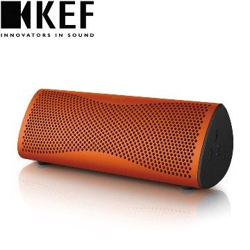 英國 KEF MUO 藍牙無線喇叭-橘色