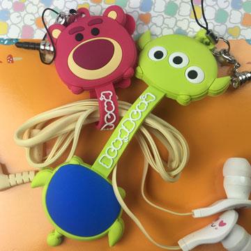 迪士尼Tsum Tsum 捲線器+防塵塞