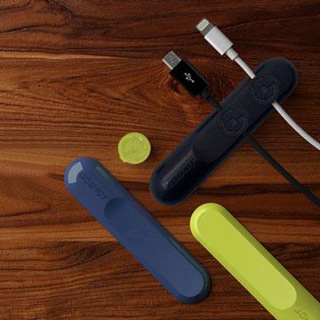 磁吸線材收納理線器