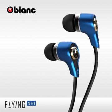 【Oblanc】 NH1個性寶石藍,高清晰人聲 還原最純淨的聲音,全功能玩美入耳式耳機