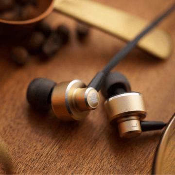 UX201高音質耳道式耳機 玫瑰金