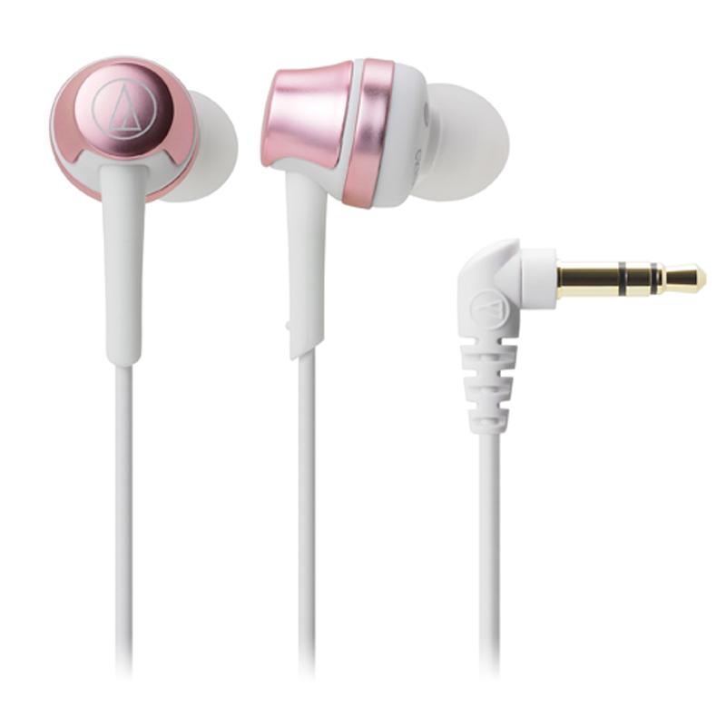 鐵三角 ATH-CKR50 粉紅金 輕巧耳道式耳機