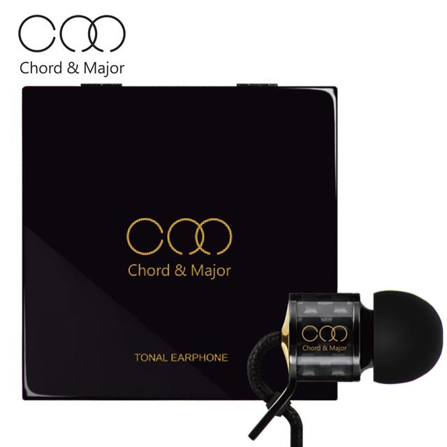 耳機∣Chord & MajorMajor 01'16電子音樂調性碳纖維入耳式耳機