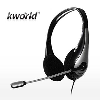 (福利品)【Kworld 廣寰】KW-J1頭戴式耳麥