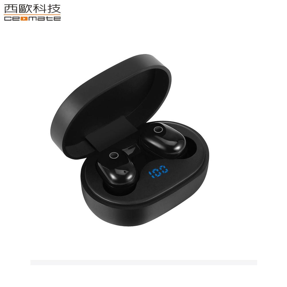 西歐科技 托雷多無線雙耳立體聲藍牙耳機 CME-BTK   900 經典黑