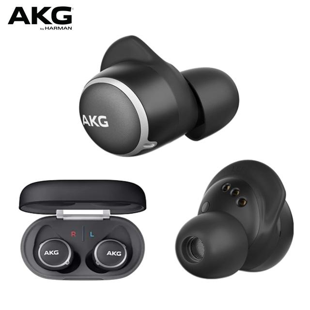 AKG N400NC 主動降噪防水真無線耳機【黑色】