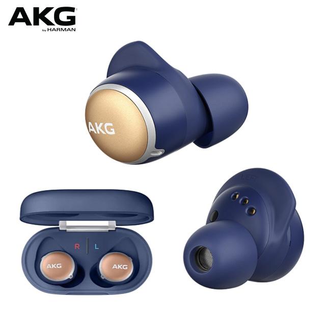 AKG N400NC 主動降噪防水真無線耳機【藍色】