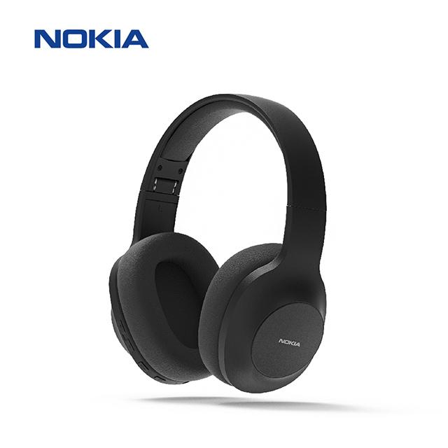 【NOKIA諾基亞】頭戴式  無線藍牙耳機E1200-黑