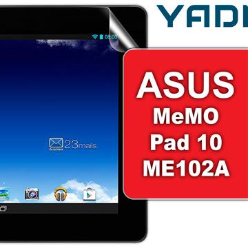 ASUS MeMO Pad 10 ME102A  - YADI 水之鏡AG保護貼