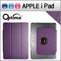 Optima iPad Air Smart 360 亞麻紋保護套 - 紫色